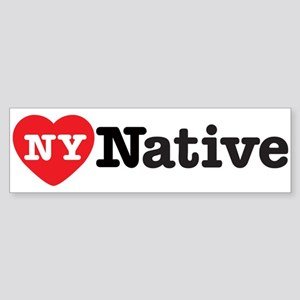 NY Native Bumper Sticker
