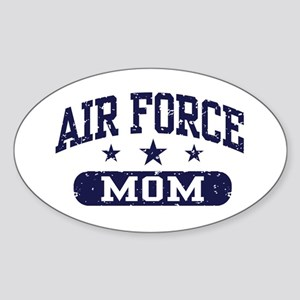 Air Force Mom Sticker (Oval)