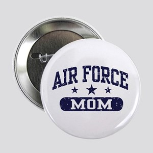"Air Force Mom 2.25"" Button"