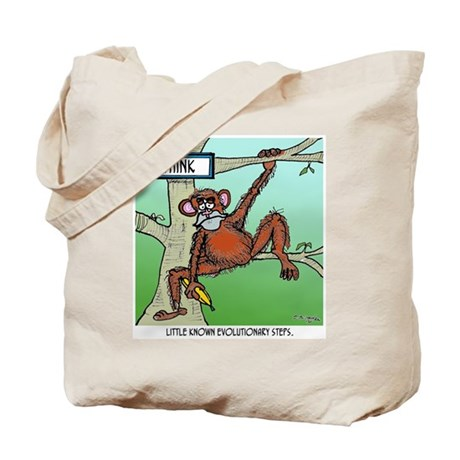 Little Known Evolutionary Steps Tote Bag