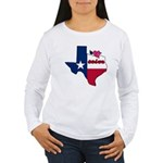 ILY Texas Women's Long Sleeve T-Shirt