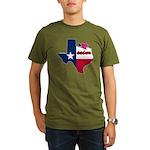 ILY Texas Organic Men's T-Shirt (dark)