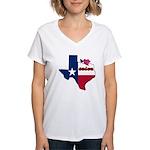 ILY Texas Women's V-Neck T-Shirt