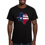 ILY Texas Men's Fitted T-Shirt (dark)