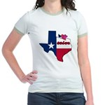 ILY Texas Jr. Ringer T-Shirt