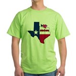 ILY Texas Green T-Shirt