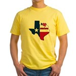 ILY Texas Yellow T-Shirt