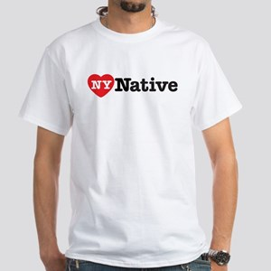 NY Native White T-Shirt