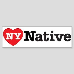 NY Native Bumper Sticker (Bumper 50 pk)