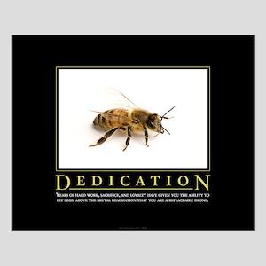 Dedication Small Poster