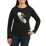 ILY California Women's Long Sleeve Dark T-Shirt