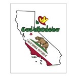 ILY California Small Poster