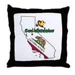 ILY California Throw Pillow