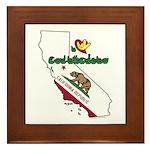 ILY California Framed Tile