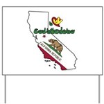 ILY California Yard Sign