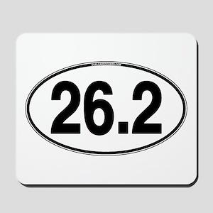 26.2 Euro Oval Mousepad