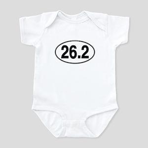 26.2 Euro Oval Infant Bodysuit