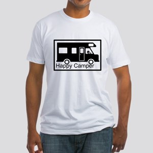 Happy Camper Fitted T-Shirt