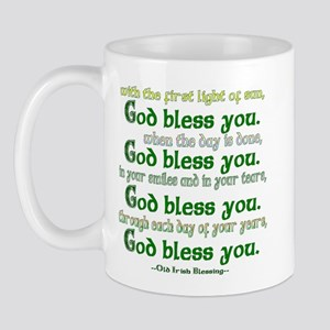 Irish Blessing--God Bless You Mug