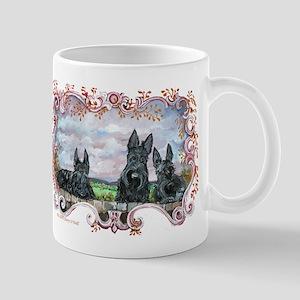 Scottish Highland Portait Mug