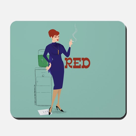 Mad Men Red Mousepad