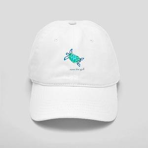 save the gulf - sea turtle bl Cap