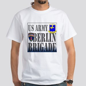 BerlinBrigade 5th BN 502nd In White T-Shirt