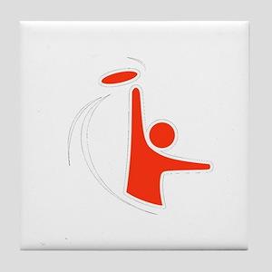 Orange Logo Tile Coaster