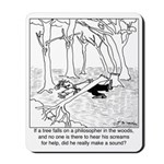 A Philosopher in the Woods Mousepad