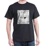 A Philosopher in the Woods Dark T-Shirt