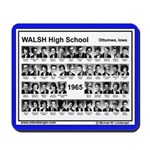 1965, Walsh HS, Ottumwa, Iowa, senior Pix,Mousepad