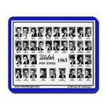 1963 Walsh High School, Senior Pix, Mousepad