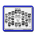 1959 Walsh High School, Ottumwa, Iowa, Mousepad