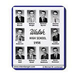 1958 Walsh High School, Ottumwa, Iowa, Mousepad