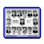 1957 Walsh High School, Ottumwa, Iowa, Mousepad