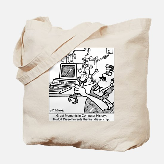 The Diesel Chip Tote Bag