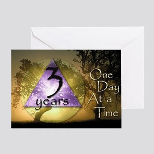 3 Year ODAAT Birthday Greeting Card