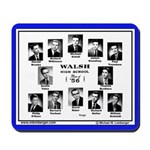 1956 Walsh High School. Ottumwa, Iowa, Mousepad