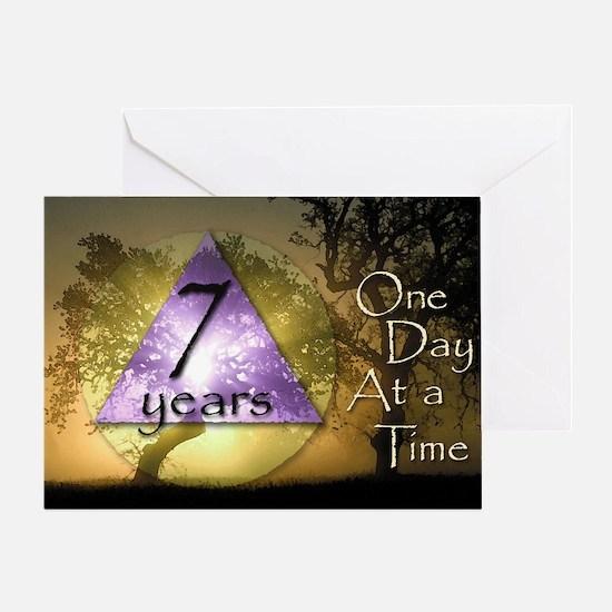 7 Year ODAAT Birthday Greeting Card