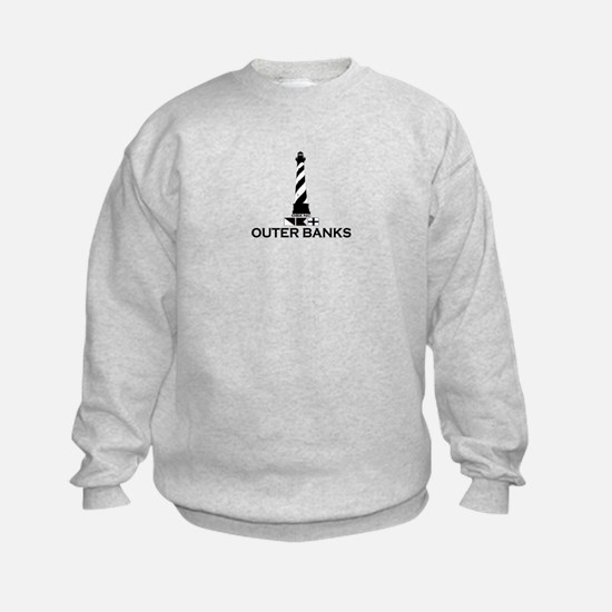 Outer Banks NC - Lighthouse Design Sweatshirt