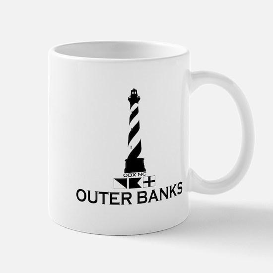 Outer Banks NC - Lighthouse Design Mug