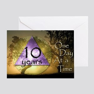10 Year ODAAT Birthday Greeting Card