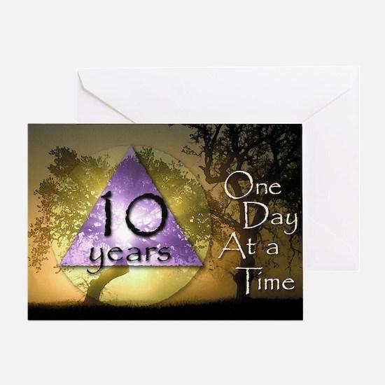 10 Year ODAAT Birthday Greeting Card