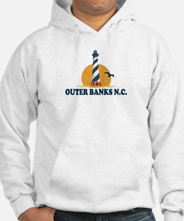 Outer Banks NC - Lighthouse Design Hoodie