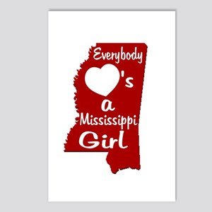 Everybody Loves a MS Girl RW Postcards (Package of