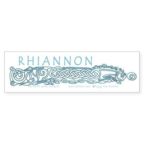 Rhiannon Bumper Sticker