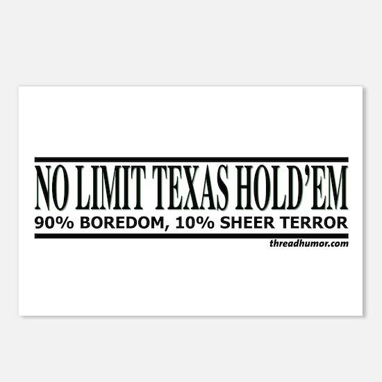 No Limit: 90% Boredom, 10% Sh Postcards (Package o