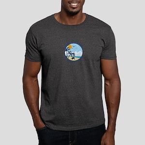 Beaufort NC - Sand Dollar Design Dark T-Shirt