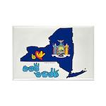 ILY New York Rectangle Magnet (100 pack)