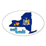 ILY New York Sticker (Oval 10 pk)